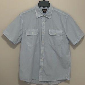 Michael Kors Mens Button Down Shirt Large